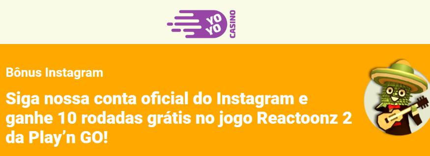 YoyoCasino_promoçãoinstagram